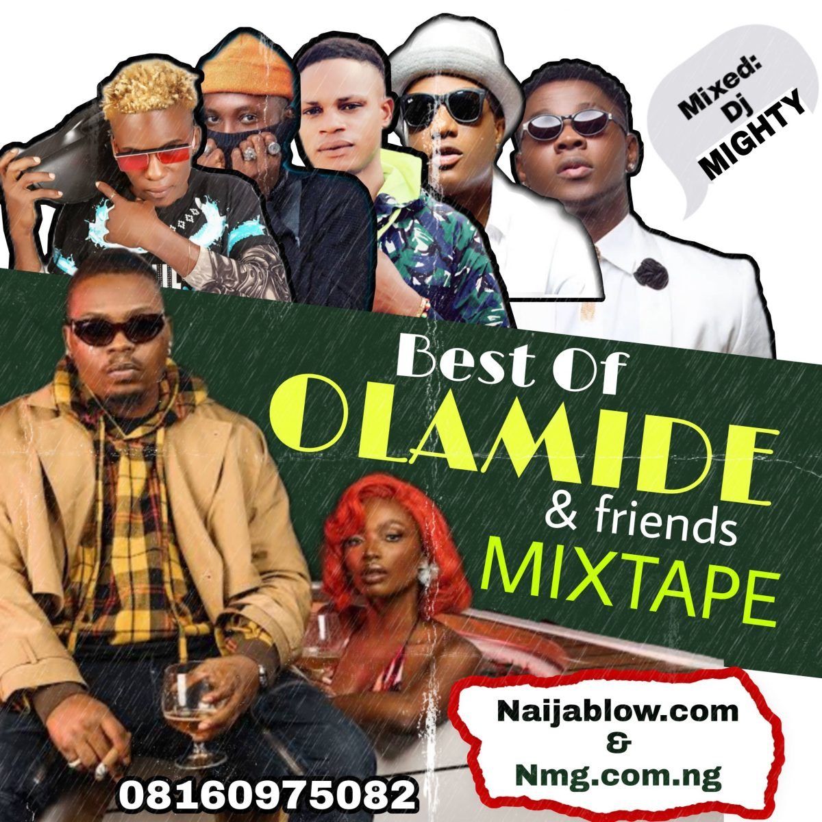 Best Of Olamide and Friends Mixtape